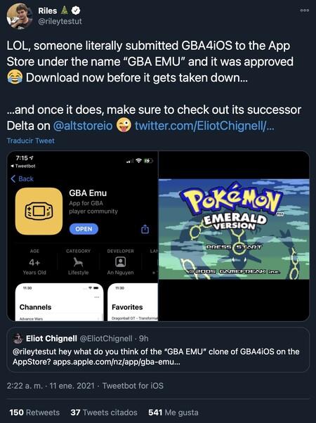 """Sie schaffen es, einen Game Boy Advance-Emulator für das iPhone im App Store zu """"schleichen"""""""