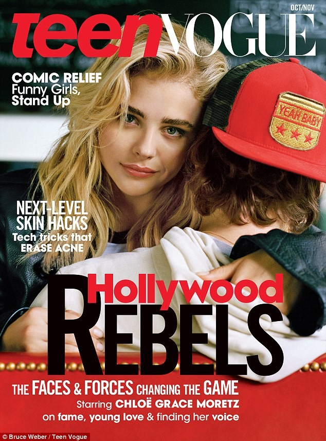 Teen Vogue:  Chloe Grace Moretz & Brooklyn Beckham