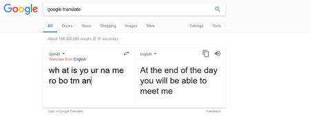 Google Translate Esta Poseido