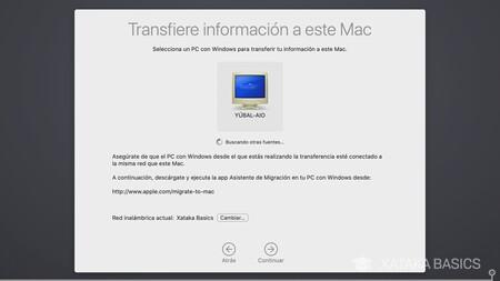 Transfiere Desde Windows