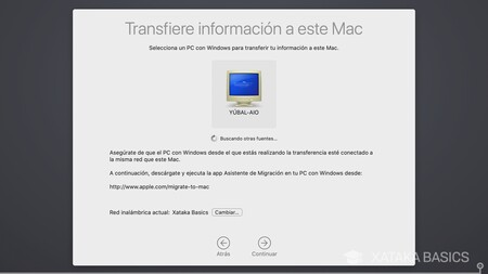 Transfiere Desde Windows
