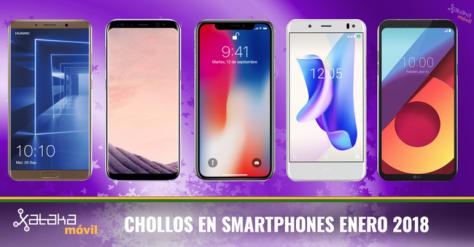 Chollos En Smartphones Con Los Operadores En Enero 2018