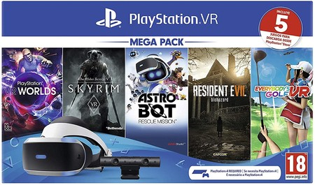 the pack with five games is at its minimum price on Amazon for 219 euros