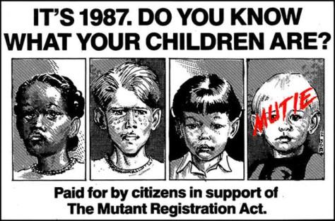 Anuncio Mutant Registration Act