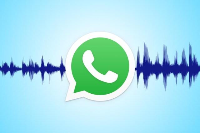 WhatsApp te dejará grabar una nota de voz en muchas tomas