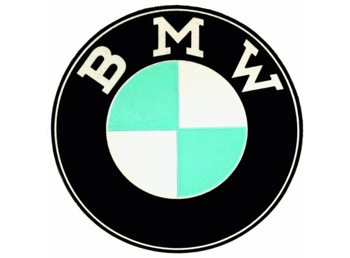 Logo Bmw 1954