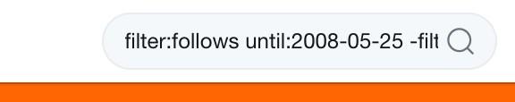 Filter Follows Until 2008 05 25 Filter Replies Busqueda De Twitter