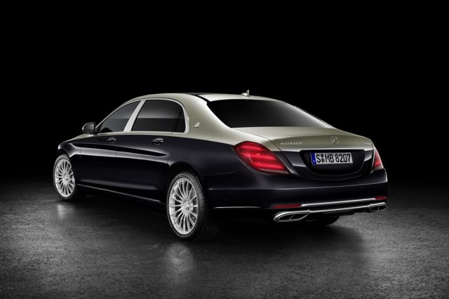 Mercedes Maybach S 2018 3