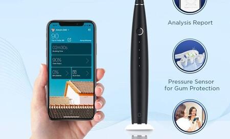El cepillo de dientes eléctrico Bluetooth Oclean One con app para smartphones baja hasta los 29.99 euros en Amazon con cupón