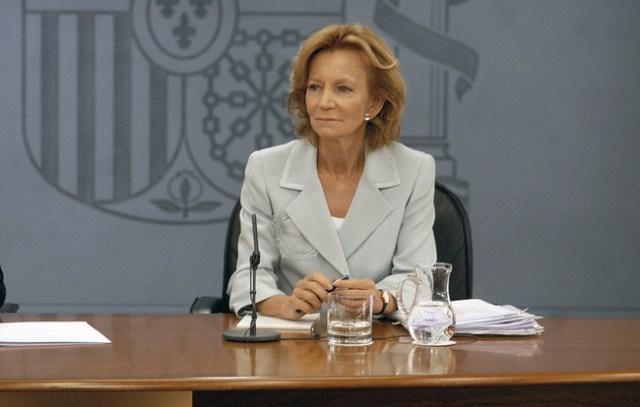Elena Salgado, Ministra de Sanidad durante la legislatura en la que se aprobó la Ley de Reproducción Asistida (2004-2008). Imagen: Moncloa.