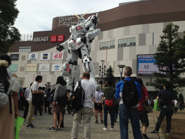 Unicorn Gundam Japon 10