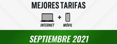 Las mejores tarifas de terminal y fibra en septiembre de 2021