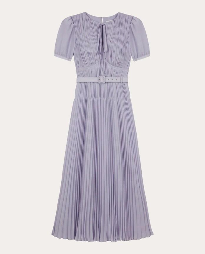 SELF-PORTRAIT chiffon midi dress