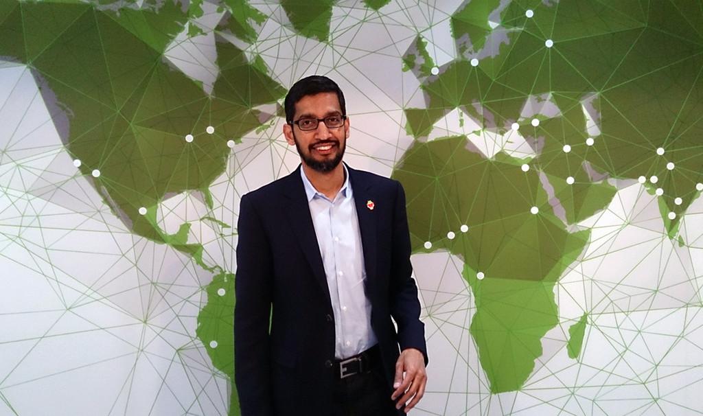 El hijo de once años de Sundar Pichai esta minando Ethereum en un computador que el mismo CEO de Google® armó