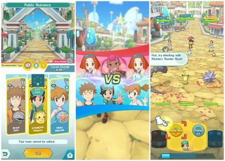 'Pokémon Masters', das neue Kampf- und Strategiespiel von 'Pokémon', ist jetzt für iOS und Android verfügbar