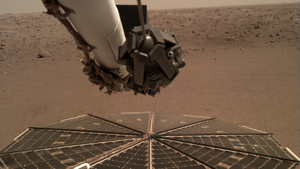 El sonido del viento en Marte escuchado por primera vez gracias a la NASA InSight