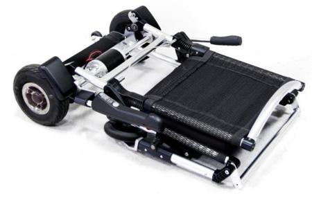 Zinger una silla de ruedas elctrica y plegable