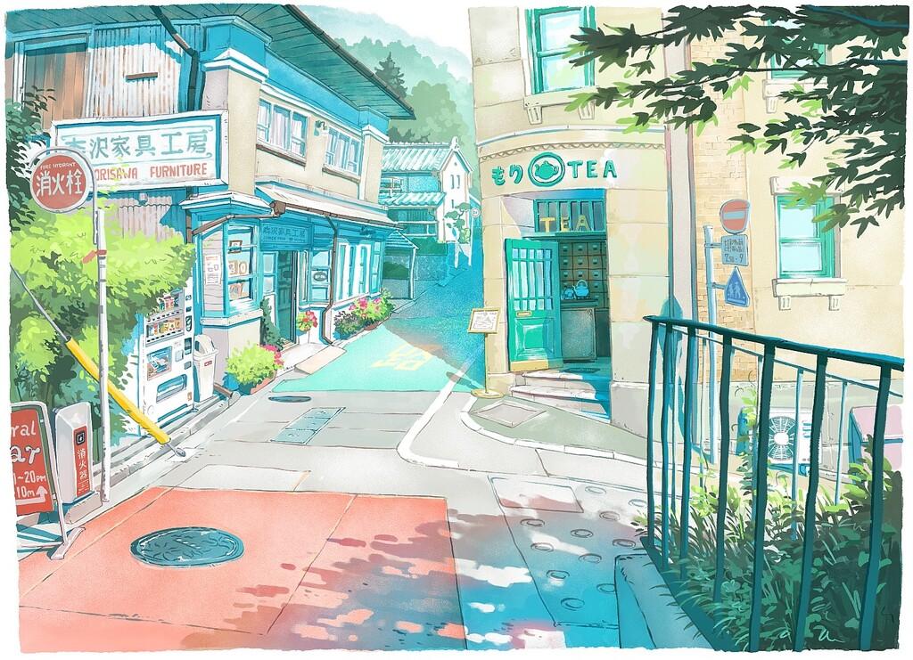 Si buscas el wallpaper perfecto echa un vistazo a las hermosas ilustraciones de Mateusz Urbanowicz