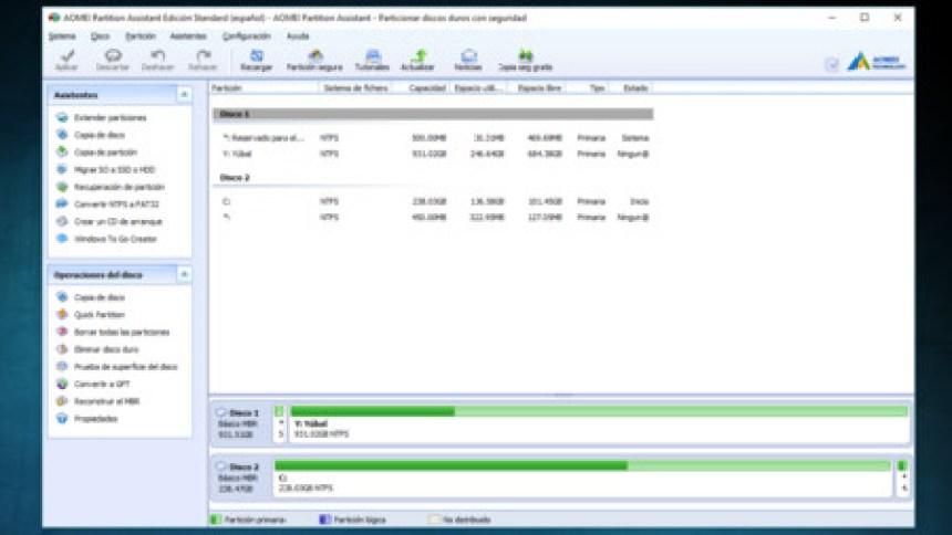 Particiones de disco duro gratis. | MELSYSTEMS.ES