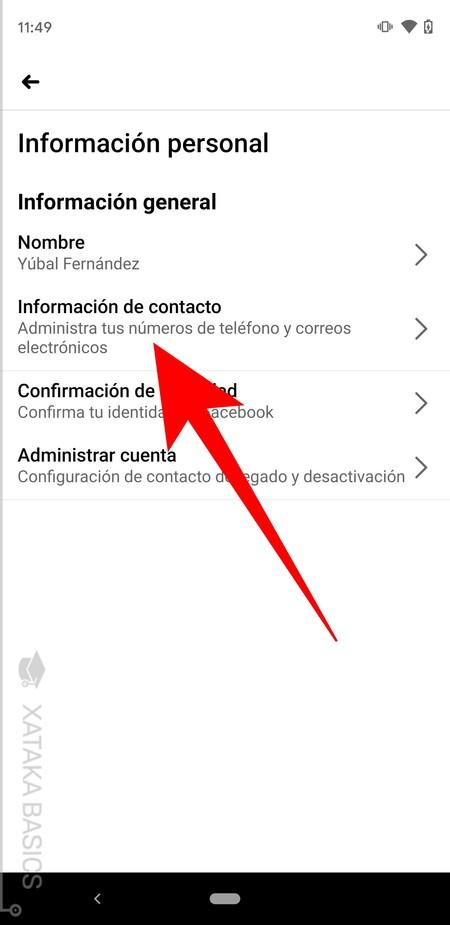 Info De Contacto