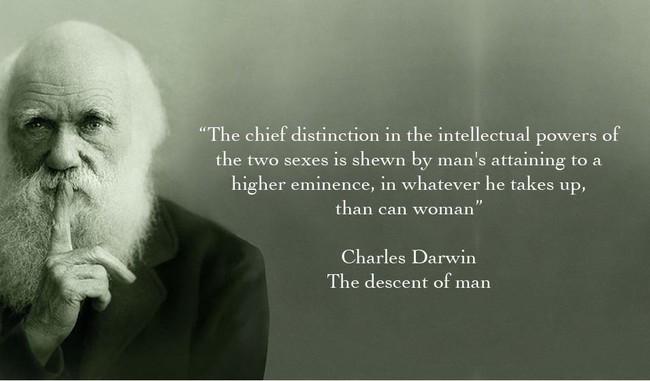 Darwin Sexist Asshat