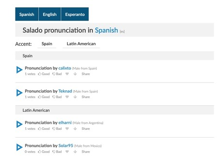 Salado Pronunciation How To Pronounce Salado In Spanish English Esperanto