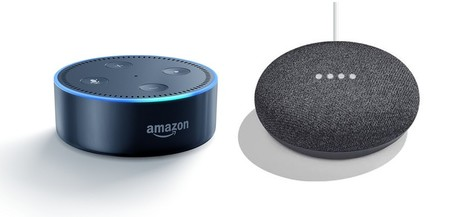 Echo Dot Google Mini