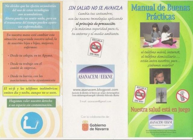 Navarra cede sus colegios para conversaciones anti-WiFi mientras instala nuevas redes