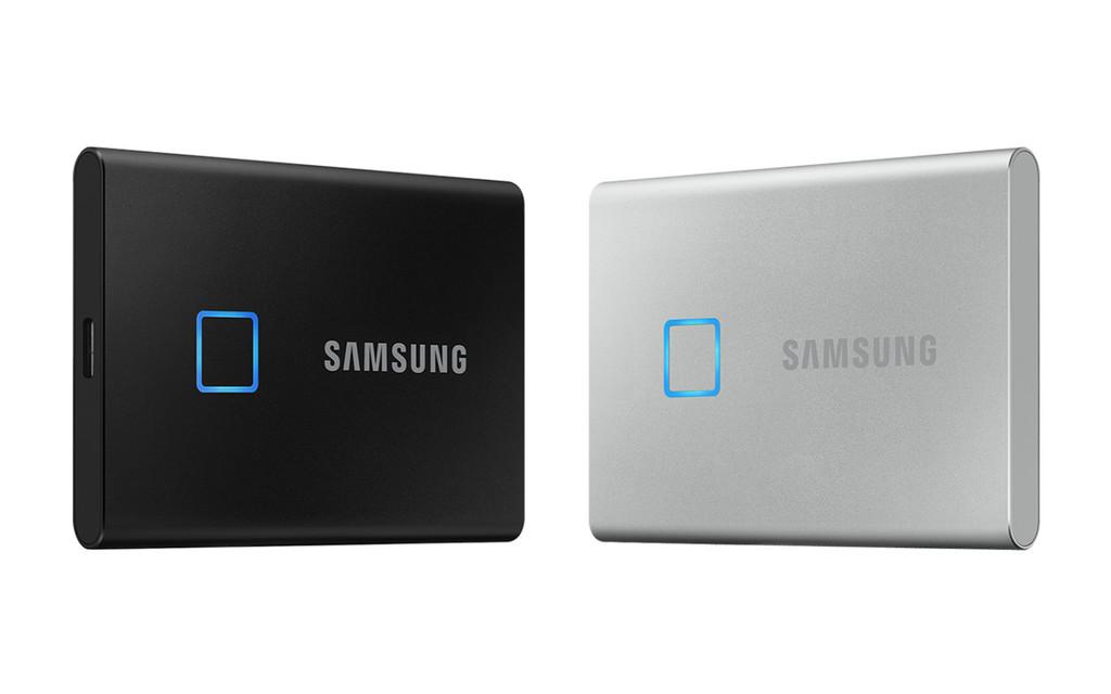 Samsung le puso un sensor de huellas a su nueva unidad SSD portátil, por si las contraseñas y el cifrado no son suficientes