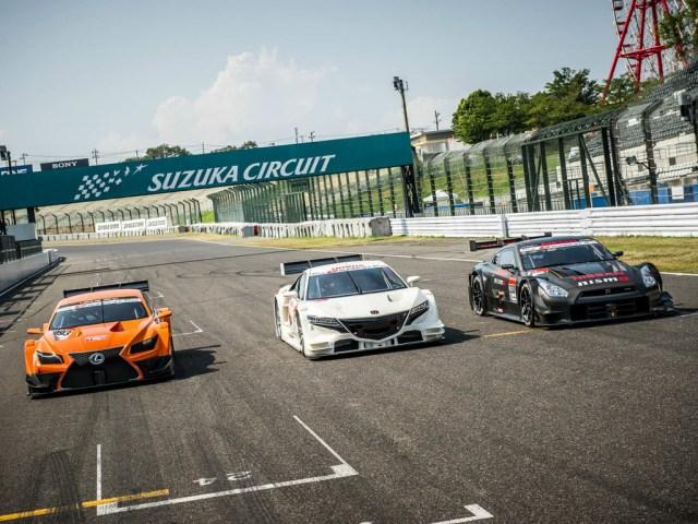 JGTC GT500 Lexus, Honda, Nissan
