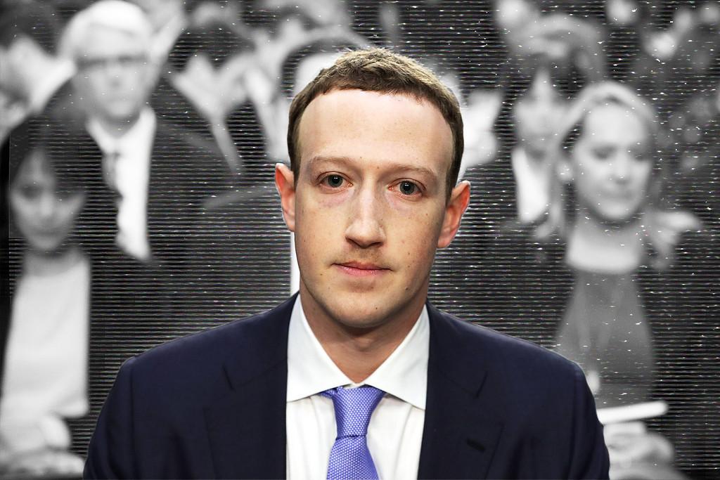 Mark Zuckerberg Robot