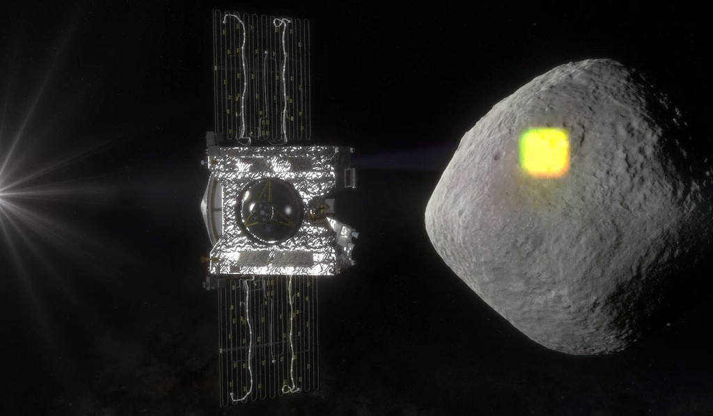 """Permalink to OSIRIS-REx, la nave """"minera"""" de la NASA, ha llegado al asteroide Bennu: no es una roca cualquiera y nos traerá un pedacito"""