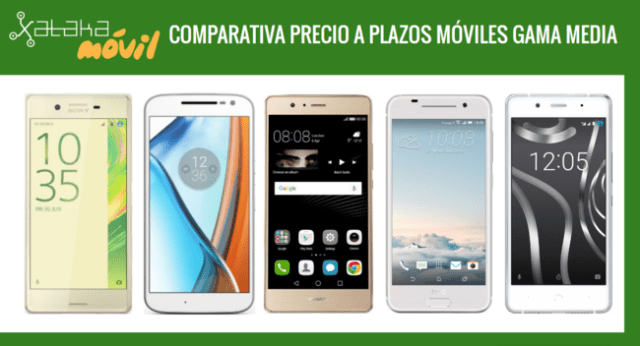 Comparativa Moviles Gama Media Con Pago A Plazos