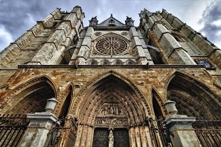 Fachada catedral León