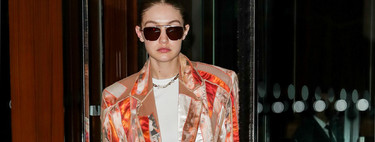 The costume working more complicated Gigi Hadid has all the colours that will be trend this spring