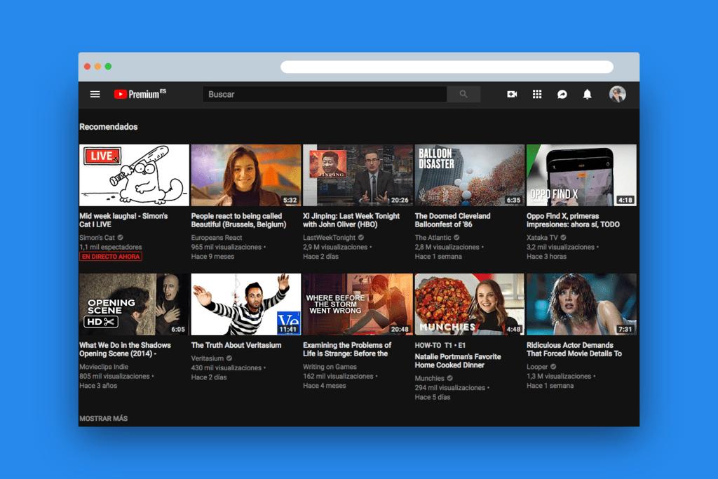 Youtube Premium Esp