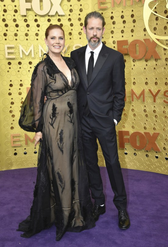 Amy Adams Fendi Emmy 2019