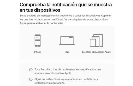 Comprobar Datos Apple Id