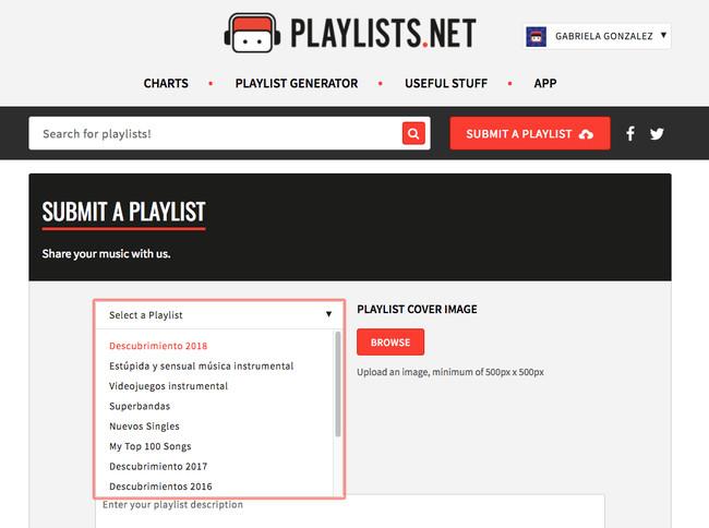 Submit Your Playlist To Playlists Net 2018 02 16 16 39 08