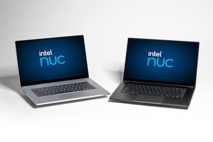 El primer portátil de Intel del programa NUC es un 15,6 pulgadas con hasta 16 GB de RAM para venderse a través de pequeños fabricantes