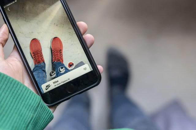 Wanna Kicks, una aplicación para probarte zapatillas empleando el terminal y realidad aumentada