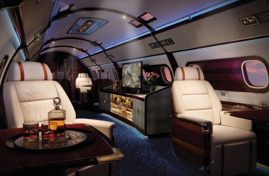 Skyacht One: el avión más lujoso del mundo