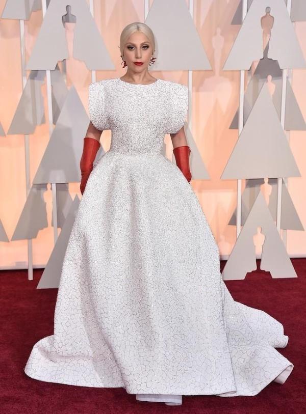 Oscars 2015 Lady Gaga y otros cuadros de la alfombra roja