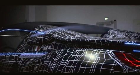 BMW i8 Roadster: aquí está en su primer vídeo