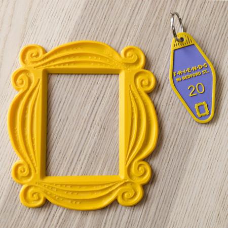 Porte-clés cadre 3D
