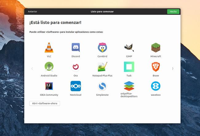 Aplicaciones Ubuntu 18 04