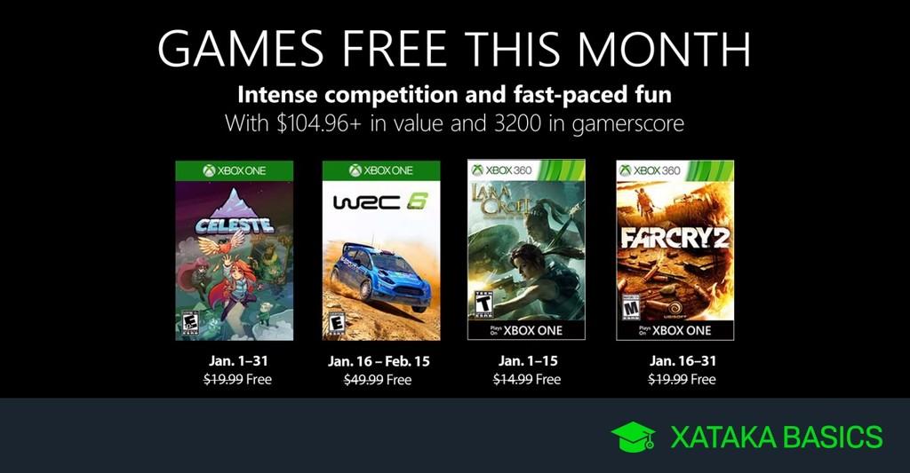 Permalink to Juegos de Xbox Gold gratis para Xbox One y 360 de enero 2019