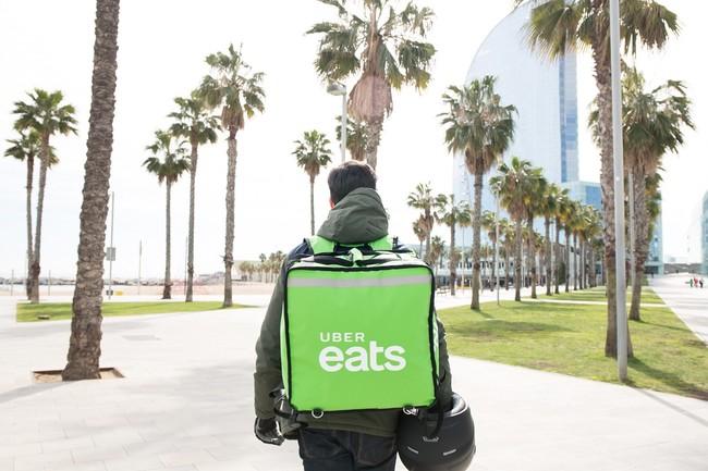 Uber Eats en Barcelona