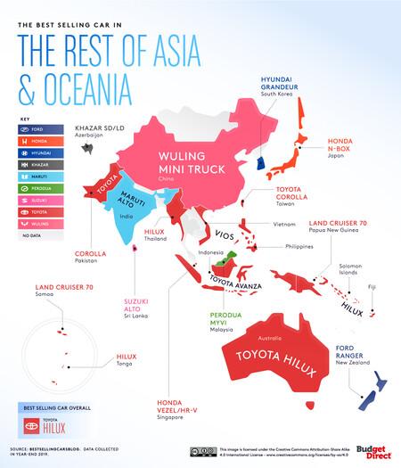 Coches Asia