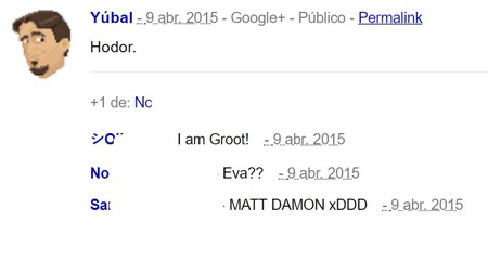 Posts De Google Plus